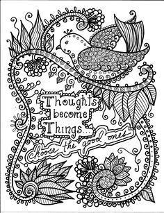 Butterflies and Dragonflies Coloring Book for ALL Ages Doodling