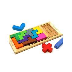 Katamino Clásico De Madera - Juego Puzzle De Estrategia Gigamic GGM-30201 Kinuma.com