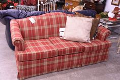 This nice couch was custom ordered from Charles Furniture and is still in like new condition!