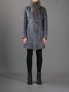 BRUNELLO CUCINELLI - fur collar coat 7