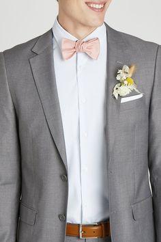 Groomsmen Attire Grey, Gray Groomsmen Suits, Groom And Groomsmen, Grey Suits, Grey Tux Wedding, Bow Tie Wedding, Wedding Suits For Groom, Wedding Tuxedos, Wedding Bells