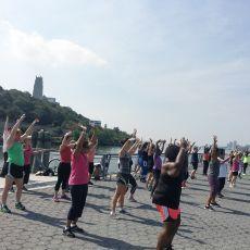 Hudson Riverside Park Workouts