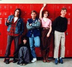 The Breakfast Club (John Hughes, Judd Nelson, Ally Sheedy, Emilio Estevez, Molly Ringwald and Anthony Michael Hall 80s Movies, Great Movies, I Movie, Movie Scene, Iconic Movies, Film Music Books, Music Tv, Movies Showing, Movies And Tv Shows