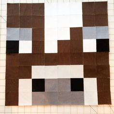 Using Fusible Grid to Create Minecraft Quilt Blocks
