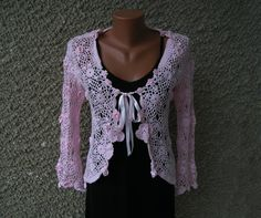 Vintage Crochet Top Size SM by GoldenVintAges on Etsy, $34.00