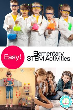 21 Exciting STEM Activities for Elementary Kids Science Activities For Kids, Science Experiments Kids, Teaching Science, Science Education, Stem Activities, Science Fun, Elementary Science, Elementary Schools, Creative Thinking Skills