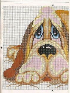 perritos-punto-de-cruz.jpg (384×512)