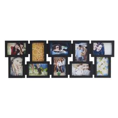 Melannco Black 10-opening Collage | Overstock.com Shopping - The Best Deals on Photo Frames & Albums