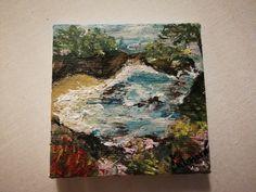 Mini landscape (oil paints)