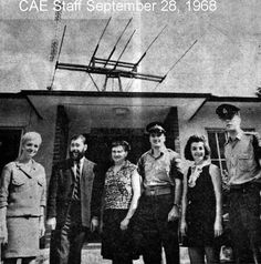 Radio CAE Staff Sep 28 1968 This is my ex husband on right end Ed Melanson . Canadian Army, Ex Husbands, Concert, Movie Posters, Movies, Film Poster, Films, Recital, Movie