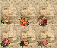 Old World  fabric by peagreengirl on Spoonflower - custom fabric