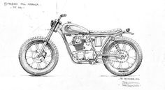 brat bike sketch - Google Search