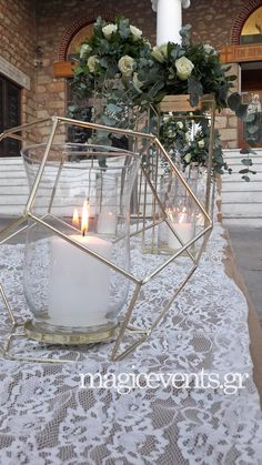 Bling Centerpiece, Centerpieces, Wedding Decorations, Table Decorations, Our Wedding, Chair, Furniture, Weddings, Home Decor
