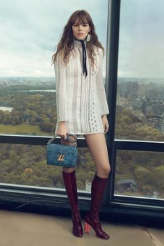 A spread from Louis Vuitton's spring campaign. [Courtesy Photo]
