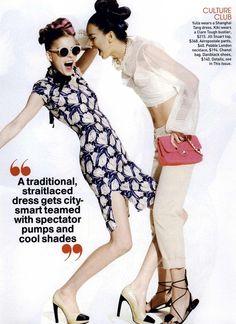 Kelly Moreira - Model  Kiki Kang - Model  Yulia Leontieva - Model  Jason Kibbler - Photographer  Nancy Rohde - Fashion Editor/Stylist  Dennis Devoy - Hair Stylist  Itsuki - Makeup Artist  Gina Viviano - Manicurist