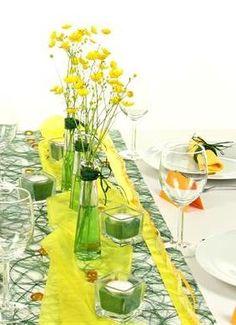 Die 46 Besten Bilder Auf Tischdekoration Grün Happy Colors Lunch