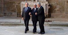 A Oradour, les présidents  Hollande et Gauck se souviennent
