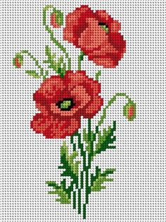 poppy account points, You can make really unique styles for materials with cross stitch. Cross stitch versions can almost amaze you. Cross stitch newcomers can make the versions they want without difficulty. Cross Stitch Freebies, Cross Stitch Bookmarks, Cross Stitch Love, Cross Stitch Borders, Cross Stitch Flowers, Cross Stitch Kits, Cross Stitch Charts, Cross Stitch Designs, Cross Stitching