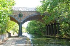 Blow Up Bridge,Regent's Canal, London
