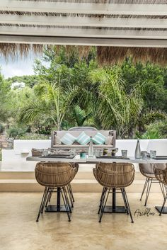 PURE HOUSE IBIZA is an amazing Boutique and Lifestyle Hotel in Ibiza island in Spain. Just a Paradise if you asking from me. Hotel Ibiza, Terrace Design, Outdoor Furniture Design, Outdoor Space Design, Beach Cottage Style, Furniture Design Modern, Cottage Style, Porch Design, Beach House Decor