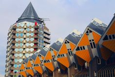Cubic Houses and Pencil Buildings in Rotterdam