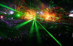 Tomorrowland Music Festival in Boom, Belgium