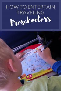 12 Ideas for Entertaining Traveling Preschoolers