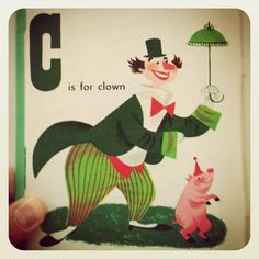 """Interior Illustration from """"Circus Alphabet"""" illustrated by Patric Hudson"""