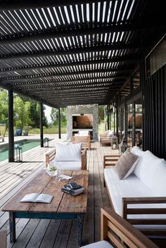 Luxury camp style refuge built for entertaining on the Uruguayan coast