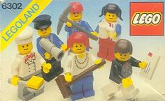 LEGO 6302-1: Mini-Figure Set | Brickset: LEGO set guide and database