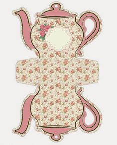 Free Teapot Printable - If you're seeking for lots of Cost-free printables, you have appear to the right location! Printable Box, Free Printables, Paper Tea Cups, Paper Art, Paper Crafts, Oh My Fiesta, Wonderland Party, Paper Dolls, Tea Party