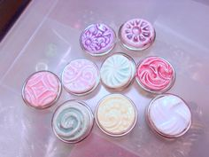 Pastel Ceramic Snaps-Assorted Easter Pastel Snaps-Handmade-Snap Buttons-Poppers-Noosa Snaps-Snap Bracelets-Button Poppers-1 each