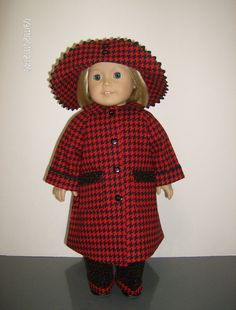 American Girl or 18 Inch Doll Clothes / 4 pc. by stitchandstack