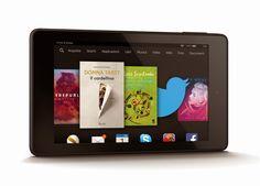 Fantechnology: È arrivato il nuovo Fire HD: il primo tablet Amazo...