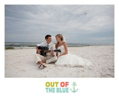 Getting married on the beach in Destin, Florida...