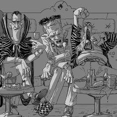 Big Hunt, Alessio Iellini on ArtStation at https://www.artstation.com/artwork/0B4me
