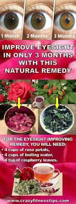 Improve Eyesight in Only 3 Months With This Natural Remedy #eyesightremedies #improveeyesight