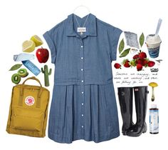"""""""Yoins //"""" by ritaflagy ❤ liked on Polyvore featuring Olive + Oak, Fjällräven, Hunter and Korres"""