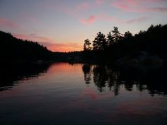 Sunset in Covered Portage Cove