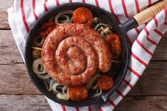 Grilled Sausage and Onions