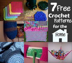 Stuffed Animal Net Storage 7 Free Crochet Patterns For The Home Crochet Round, Love Crochet, Learn To Crochet, Knit Crochet, Irish Crochet, Easy Crochet, Crochet Kitchen, Crochet Home, Crochet Gifts