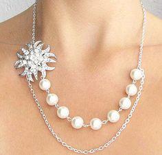 Pearl Necklace by zafirenia