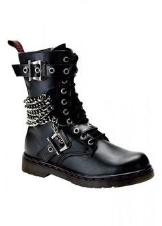 Demonia Disorder-204 Boot   Attitude Clothing