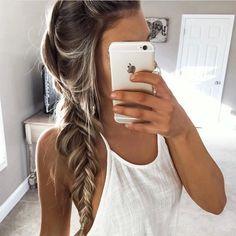 Immagine di hair, braid, and blonde
