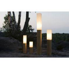 Lampe en bois Lumetto