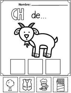 Spanish Alphabet Cut and Paste #spanishalphabet