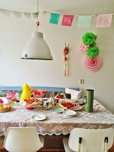 Como decorar CON MUCHO COLOR!
