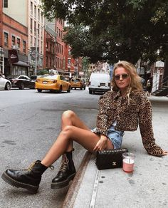 Willkommen im Dschungel: Leopardenmuster im Trend – … Welcome to the jungle: Leopard print in the trend – # jungle # leopard print # trend # welcome – # new Trend Fashion, Fashion Prints, Look Fashion, Girl Fashion, Autumn Fashion, Fashion Outfits, Fashion 2018, Fashion Women, Fashion Ideas