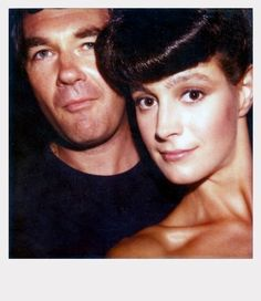 sean young, harrison ford: on the set of blade runner