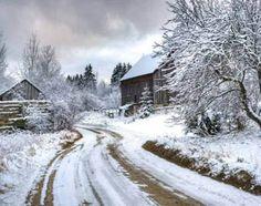 2014 Ontario Scenic Promo Calendar - December 2014 - Madawaska Valley, near Barry's Bay - winter scene Canada Wall, December 2014, Winter Scenes, Bay Area, Aunt, Ontario, Roots, Scenery, Calendar